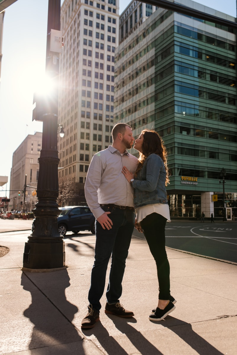 Downtown Detroit Engagement Photography Session-226